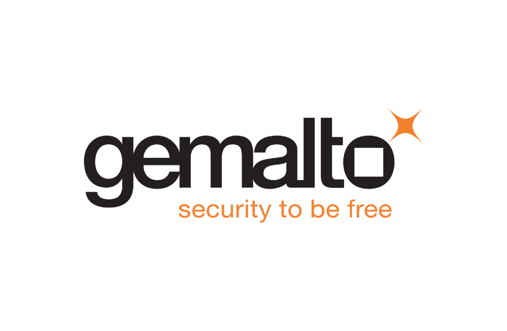 Gemalto security to be free logo