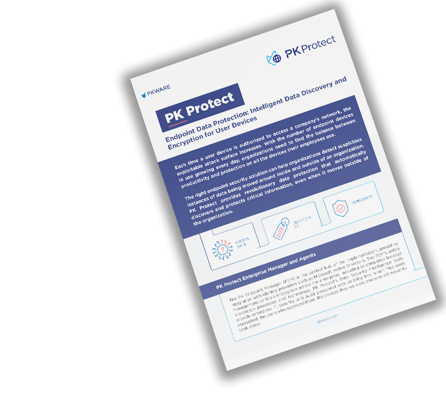 PK Protect: Endpoint Data Protection